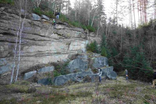 Felswand 2